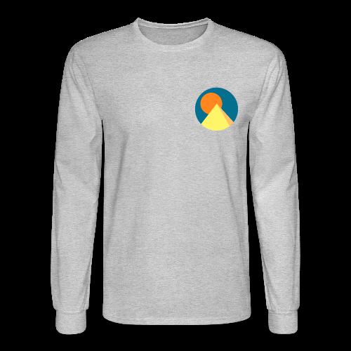 Pyramid Long Sleeve - Men's Long Sleeve T-Shirt