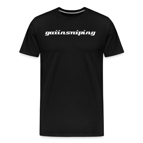 the gaiin shirt - Men's Premium T-Shirt