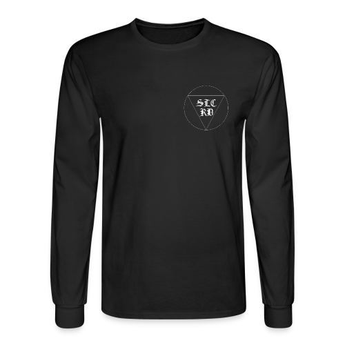Black Letter Long Sleeve - Men's Long Sleeve T-Shirt