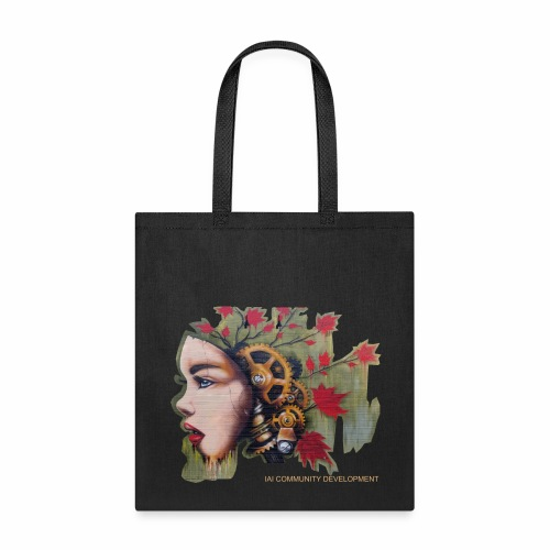 Interactive America Bag - Detroit Thinking Lady - Tote Bag