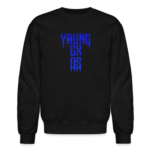 Young GXD BLUE CROSS - Crewneck Sweatshirt