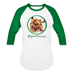 #Plantbased Oatmeal Baseball Tee - Baseball T-Shirt