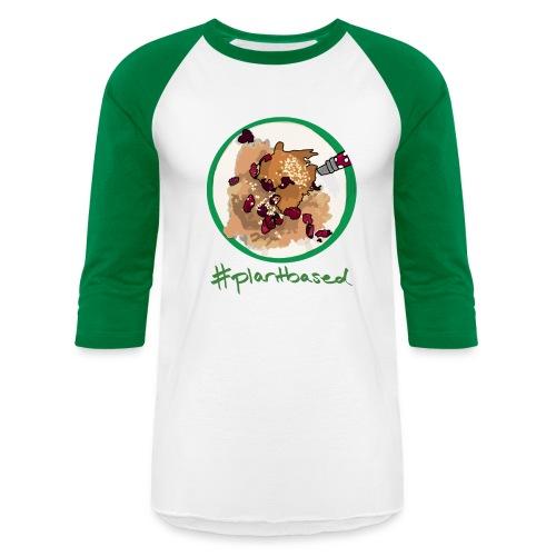 #Plantbased Oatmeal Baseball Tee - Baseball T-Shirt