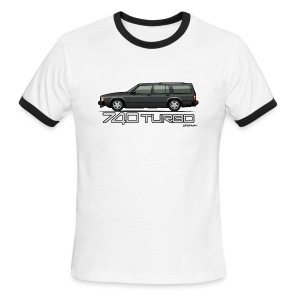 Volvo 740 745 Turbo Wagon Badge Dark Grey Metallic