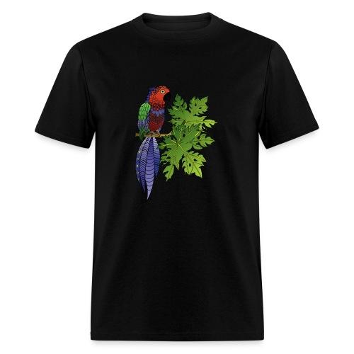 Parrot Men's T-Shirt by South Seas Tees - Men's T-Shirt