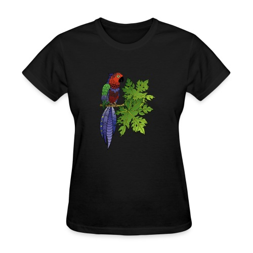 Parrot Women's T-Shirt by South Seas Tees - Women's T-Shirt