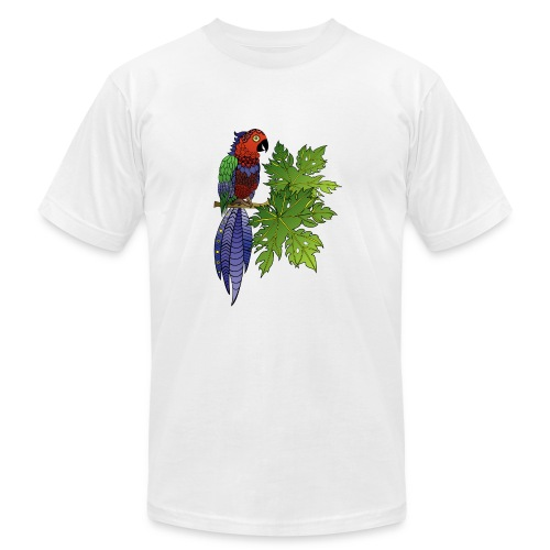 Parrot Men's T-Shirt by South Seas Tees - Men's  Jersey T-Shirt