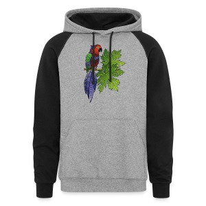 Parrot Colorblock Hoodie by South Seas Tees - Colorblock Hoodie