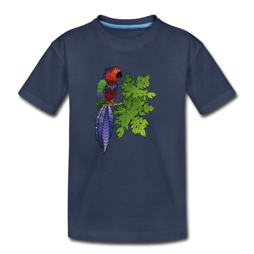 Parrot Kids' Premium Tshirt by South Seas Tees - Kids' Premium T-Shirt
