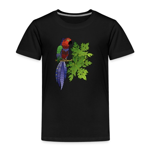 Parrot Toddler Premium T-Shirt by South Seas Tees - Toddler Premium T-Shirt