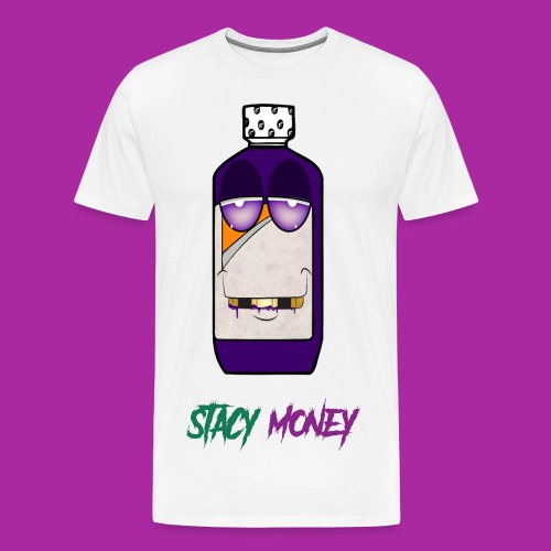STACY MONEY COUGH SYRUP - Men's Premium T-Shirt