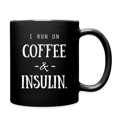 I Run on Coffee and Insulin - Full Color Mug