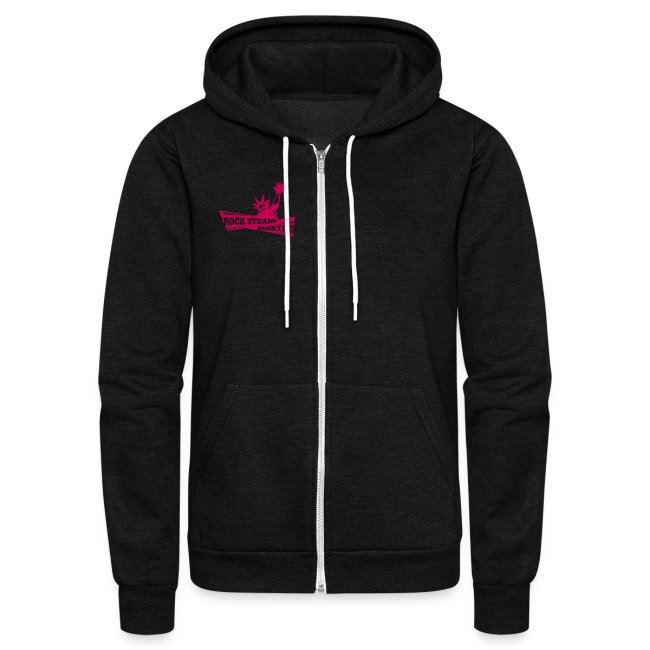 I Am Rock Steady Hoodie PINK