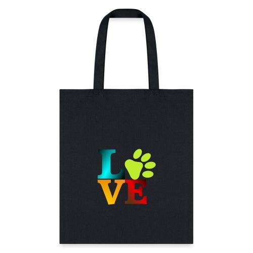 LOVE - PAW - Tote Bag