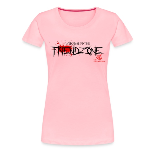 Women's Premium T-Shirt - Print Centered On Front Chest Area.Different colors and sizes.