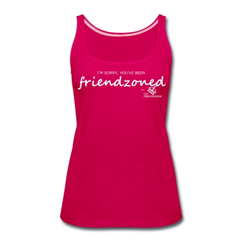 Women's Premium Tank Top - Print Centered On Front Chest Area.
