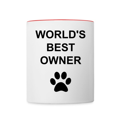 World's Best Owner Coffee Mug - Contrast Coffee Mug