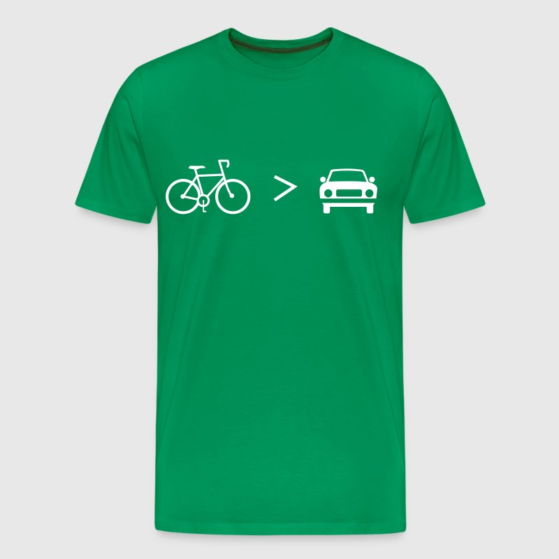 Bike Is Greater Than The Car T Shirt Spreadshirt