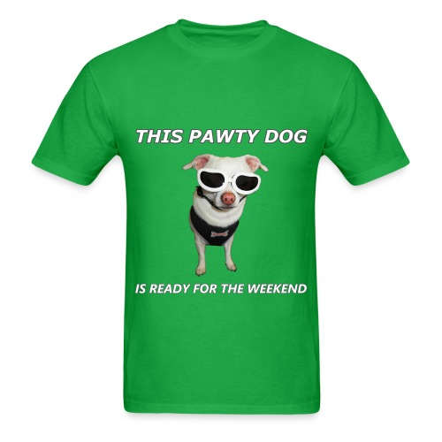Pawty Dog – Men's T-Shirt - Men's T-Shirt