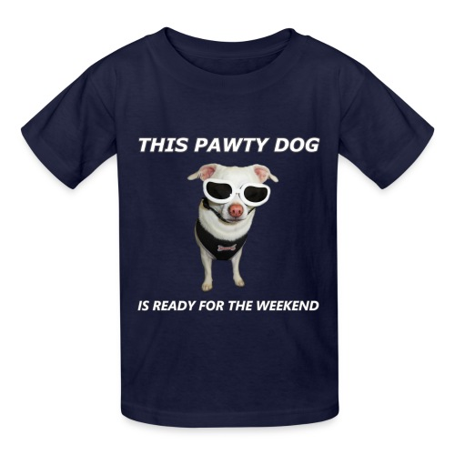 Pawty Dog - Kids T-Shirt - Kids' T-Shirt