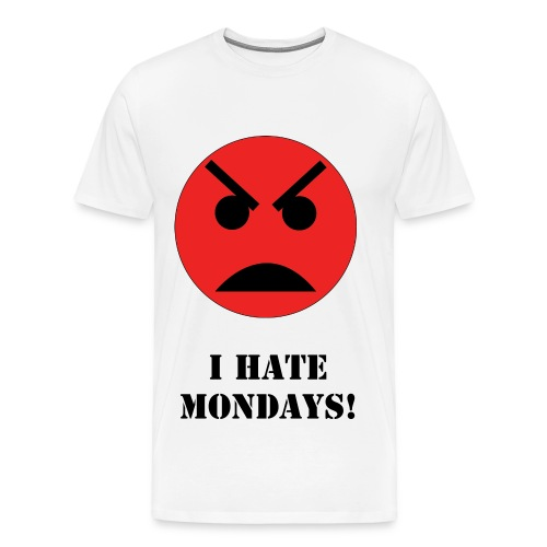 I Hate Mondays T-Shirt - Men's Premium T-Shirt