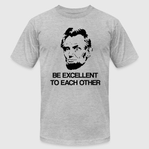 Lincoln T-Shirts - Men's T-Shirt by American Apparel
