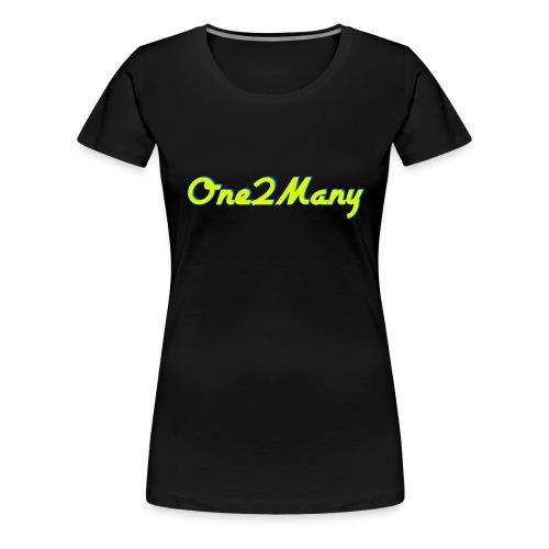 One2Many Shirt (Womens) - Women's Premium T-Shirt