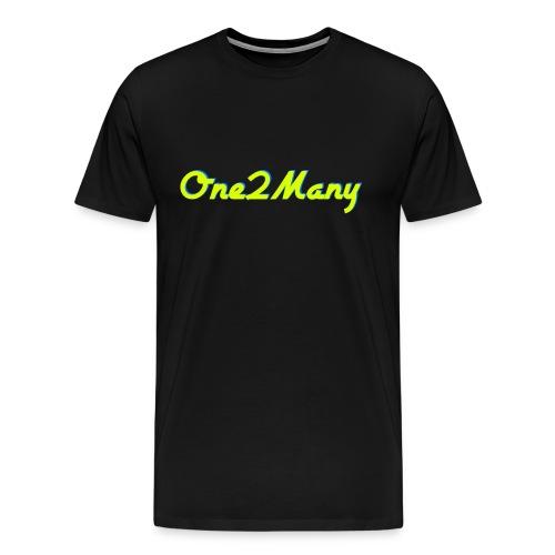 One2Many Shirt (Mens) - Men's Premium T-Shirt