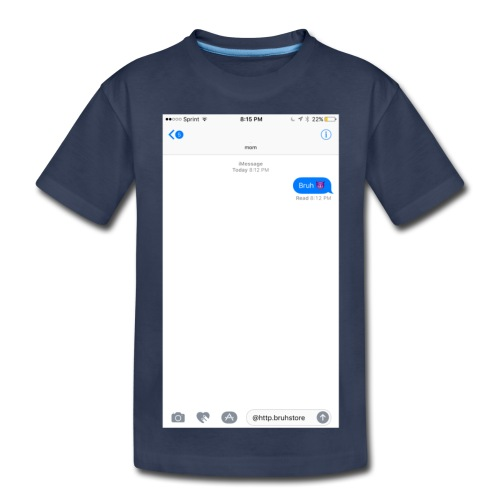 Texting With Mommy Shirt - Kids' Premium T-Shirt