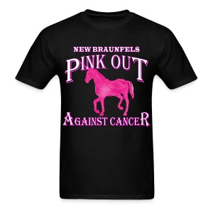 Pink Out Against Cancer - Men's T-Shirt