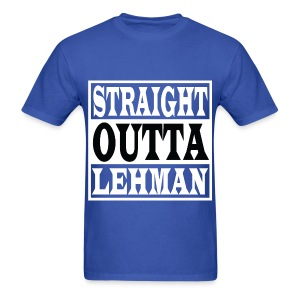 Straight Outta Lehman Black - Men's T-Shirt