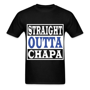 Straight Outta Chapa Blue - Men's T-Shirt
