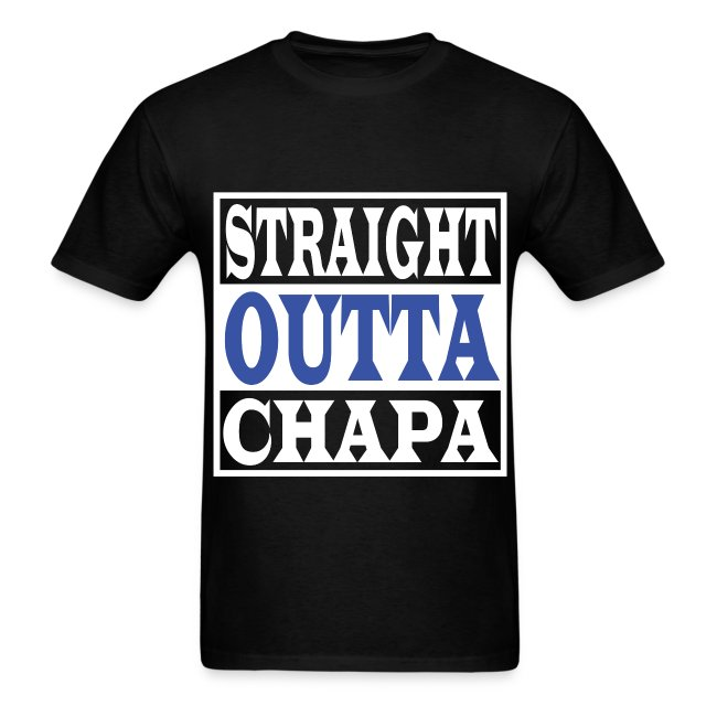 Straight Outta Chapa Blue