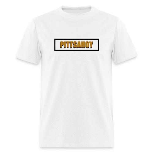 PittsAhoy 3D Logo (Men's) - Men's T-Shirt