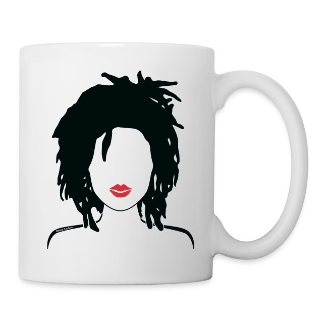 Locs & Lipstick cup/ mug