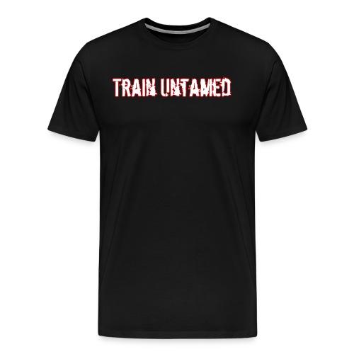 Train Untamed Light Logo - Men's Premium T-Shirt
