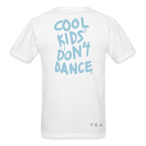 Cool Kids Don't Dance - Blue - Men's T-Shirt