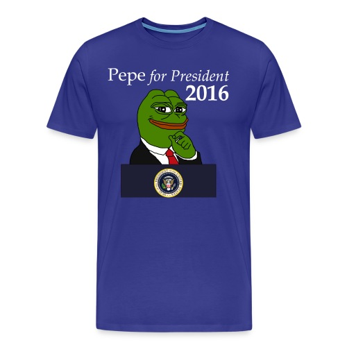 Pepe for President  - Men's Premium T-Shirt