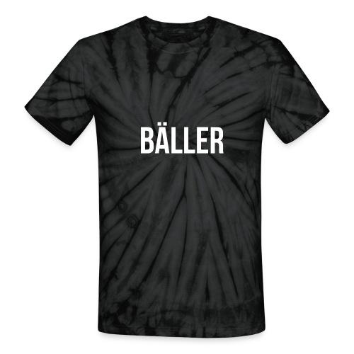 BALLER Tie Dye Shirt - Unisex Tie Dye T-Shirt
