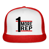 Sportswear ~ Trucker Cap ~ MuscleHack 1 More Rep Cap