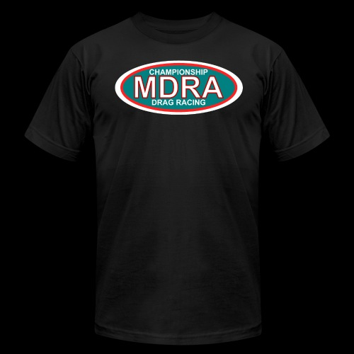 MDRA - The Official Shirt of the Mag Drag Racing Association. - Men's  Jersey T-Shirt
