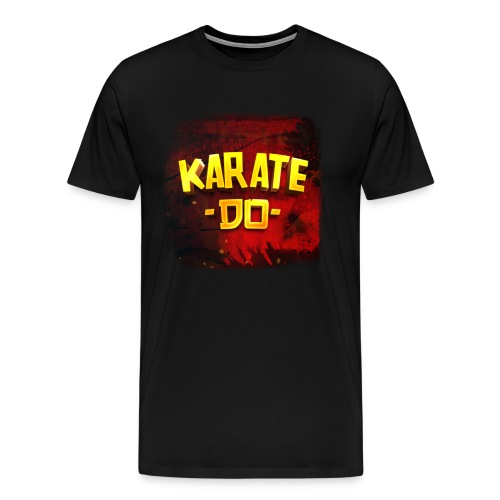 Karate Do Premium T-shirt (black) - Men's Premium T-Shirt