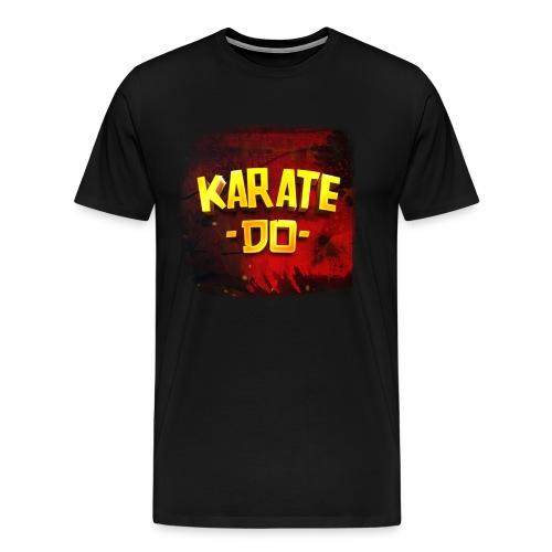 Karate Do Premium T-shirt (black) - Men's Premium T-Shirt