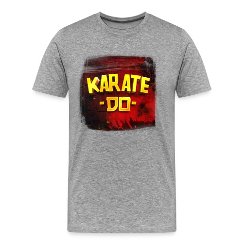 Karate Do Premium T-shirt (heather gray) - Men's Premium T-Shirt