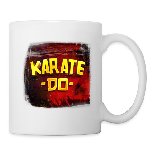 Karate Do Mug (white) - Coffee/Tea Mug