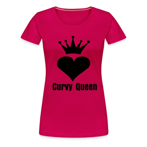 Curvy Queen  - Women's Premium T-Shirt