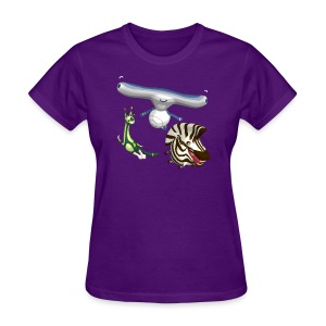 T-Shirt Silly World Series Women Violet - Women's T-Shirt