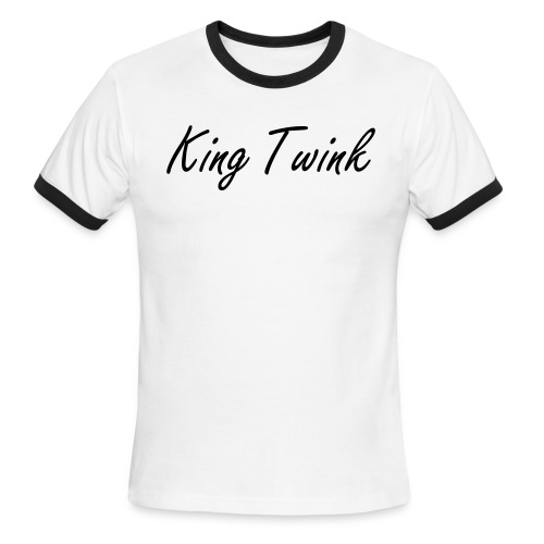 OPENING SALE King Twink T-shirt - Men's Ringer T-Shirt