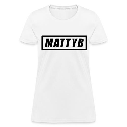 MattyB Womens T-Shirt - Women's T-Shirt