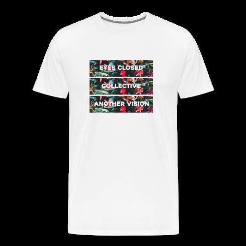 Triple Floral Short Sleeve - Men's Premium T-Shirt